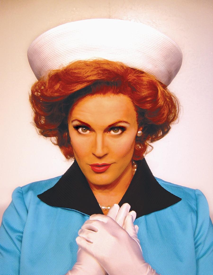 Varla Jean Merman (Jeffery Roberson) as Miriam