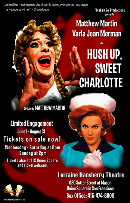 Hush Up Sweet Charlotte show poster