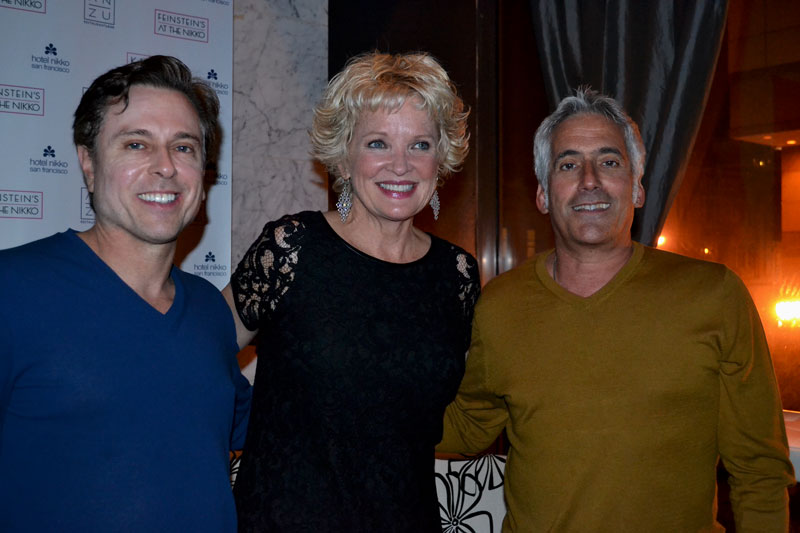 Larry Horowitz, Christine Ebersole and me