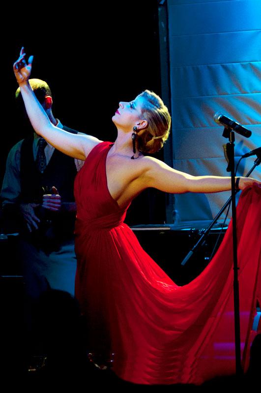 Peformance artist extraordinaire Lady Rizo