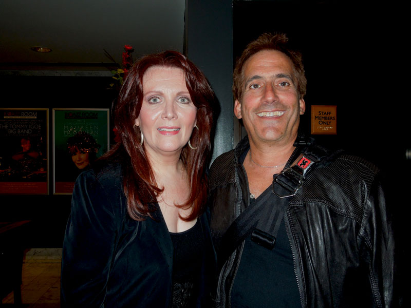 Maureen McGovern and me at the RRazz Room