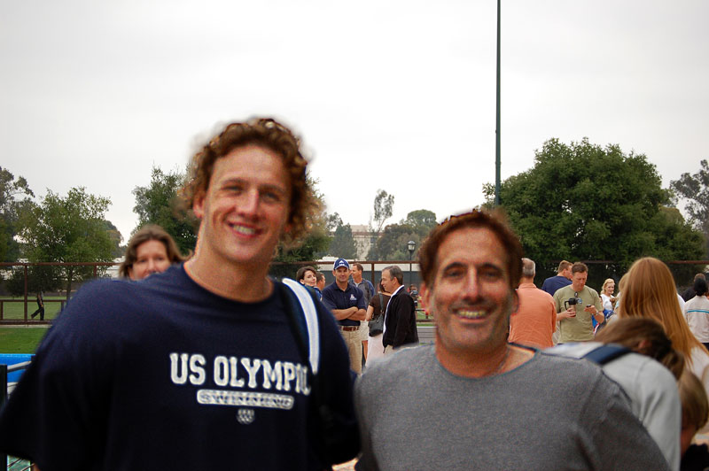 Ryan Lochte & Steve Murray