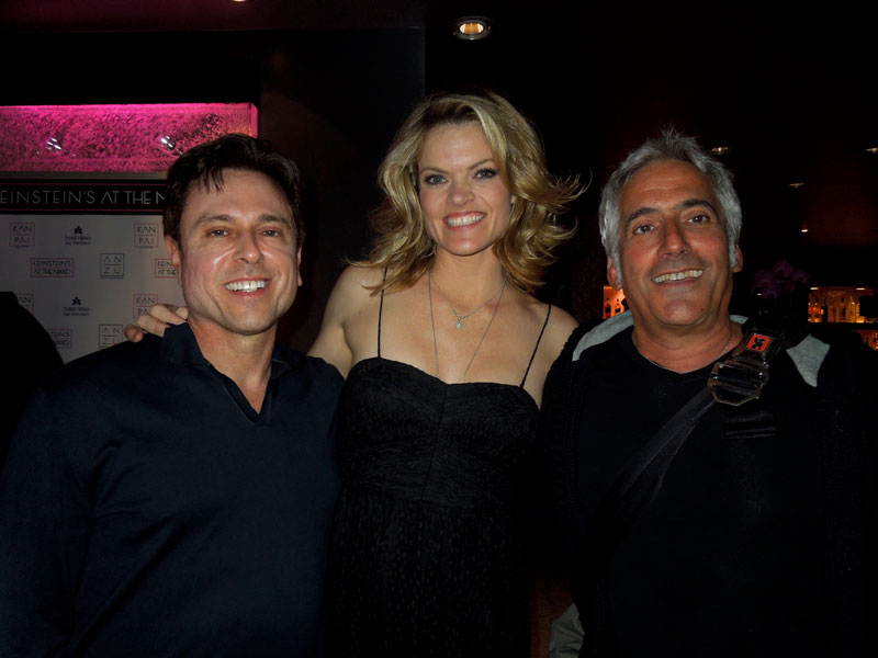 Larry Horowitz, Missi Pyle and me
