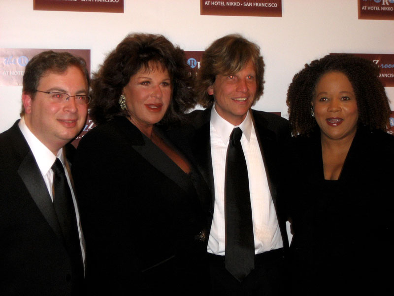 RRazz Gala- owners Rory and Robert with Lainie Kazan and Paula West