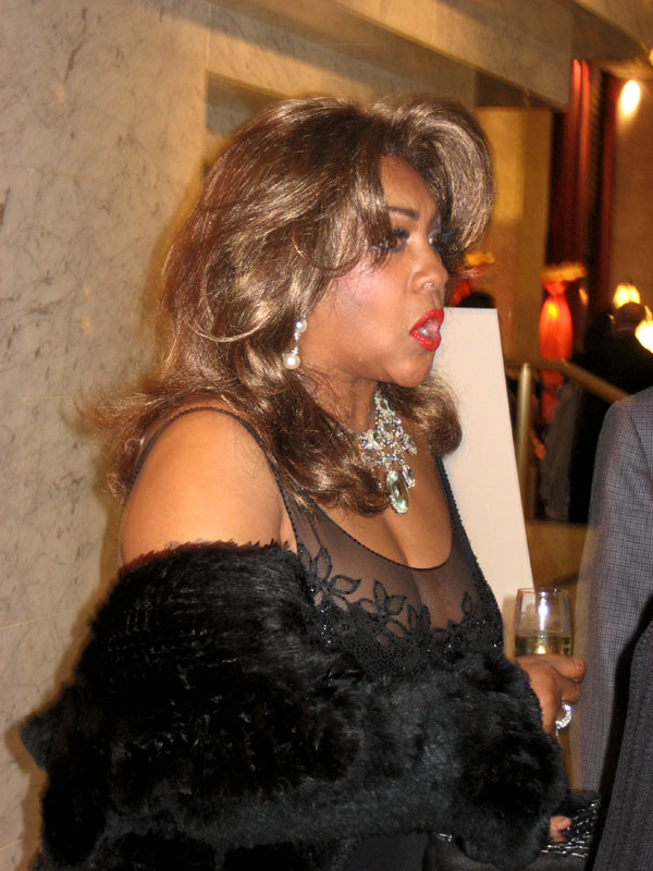 Mary Wilson at the RRAzz Room Gala