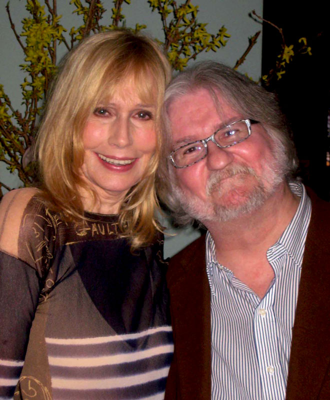 One of my faves Sally Kellerman with the late, great George Mesterhazy