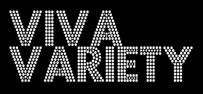 One of the few Viva Variety logos