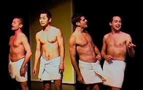 Cast of 'Naked Boys Singing'