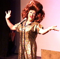 Mark Sargeant as Ethel Merman